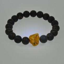 Ægte Rav armbånd / Real Amber Bracelet / Echte Bernstein Armband 44