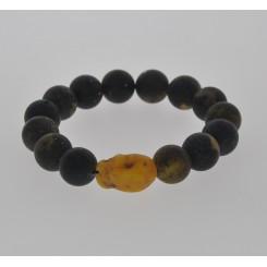 Ægte Rav armbånd / Real Amber Bracelet / Echte Bernstein Armband 45