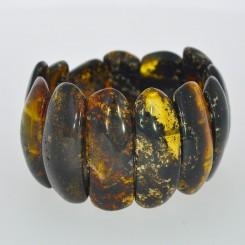 Ægte Rav armbånd / Real Amber Bracelet / Echte Bernstein Armband 60