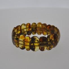 Ægte Rav armbånd / Real Amber Bracelet / Echte Bernstein Armband 80