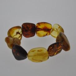 Ægte Rav armbånd / Real Amber Bracelet / Echte Bernstein Armband 82