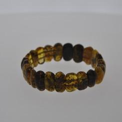 Ægte Rav armbånd / Real Amber Bracelet / Echte Bernstein Armband 84