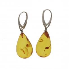 Rav Ørreringe / Amber earrings ER00044