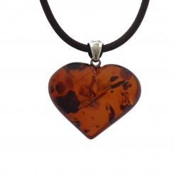 Ægte rav Hjerte / Real amber heart 50