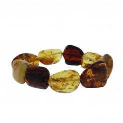 Ægte Rav armbånd / Real Amber Bracelet / Echte Bernstein Armband 81