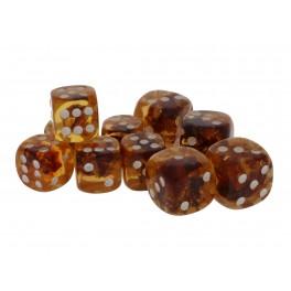 Rav terninger Mellem 2 / Amber dices middle size