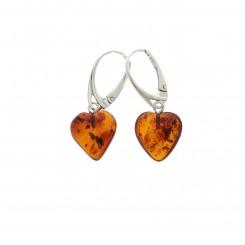 Rav Ørreringe / Amber earrings ER00040