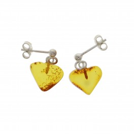 Rav Ørreringe / Amber earrings ER00028