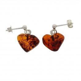 Rav Ørreringe / Amber earrings ER00029