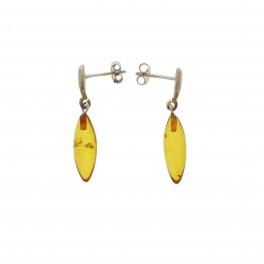 Rav Ørreringe / Amber earrings ER00033