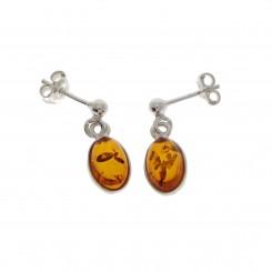 Rav Ørreringe / Amber earrings ER00039