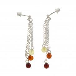 Rav Ørreringe / Amber earrings ER00041