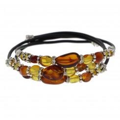 Ægte Rav armbånd / Real Amber Bracelet / Echte Bernstein Armband 42